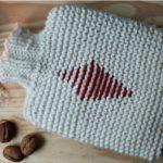 DIY- Housse de bouillotte tricotée