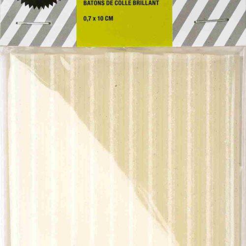 12 petits bâtons de colle paillettes - Rico Design - The Funky Fresh Project