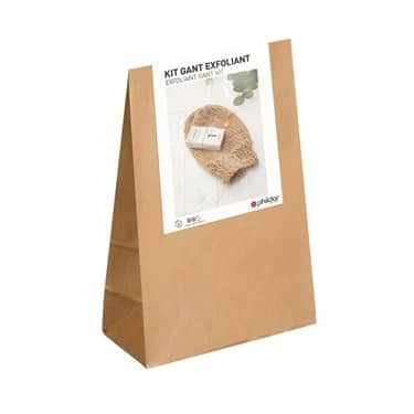 The Funky Fresh Project X Phildar - Kit gant exfoliant naturel