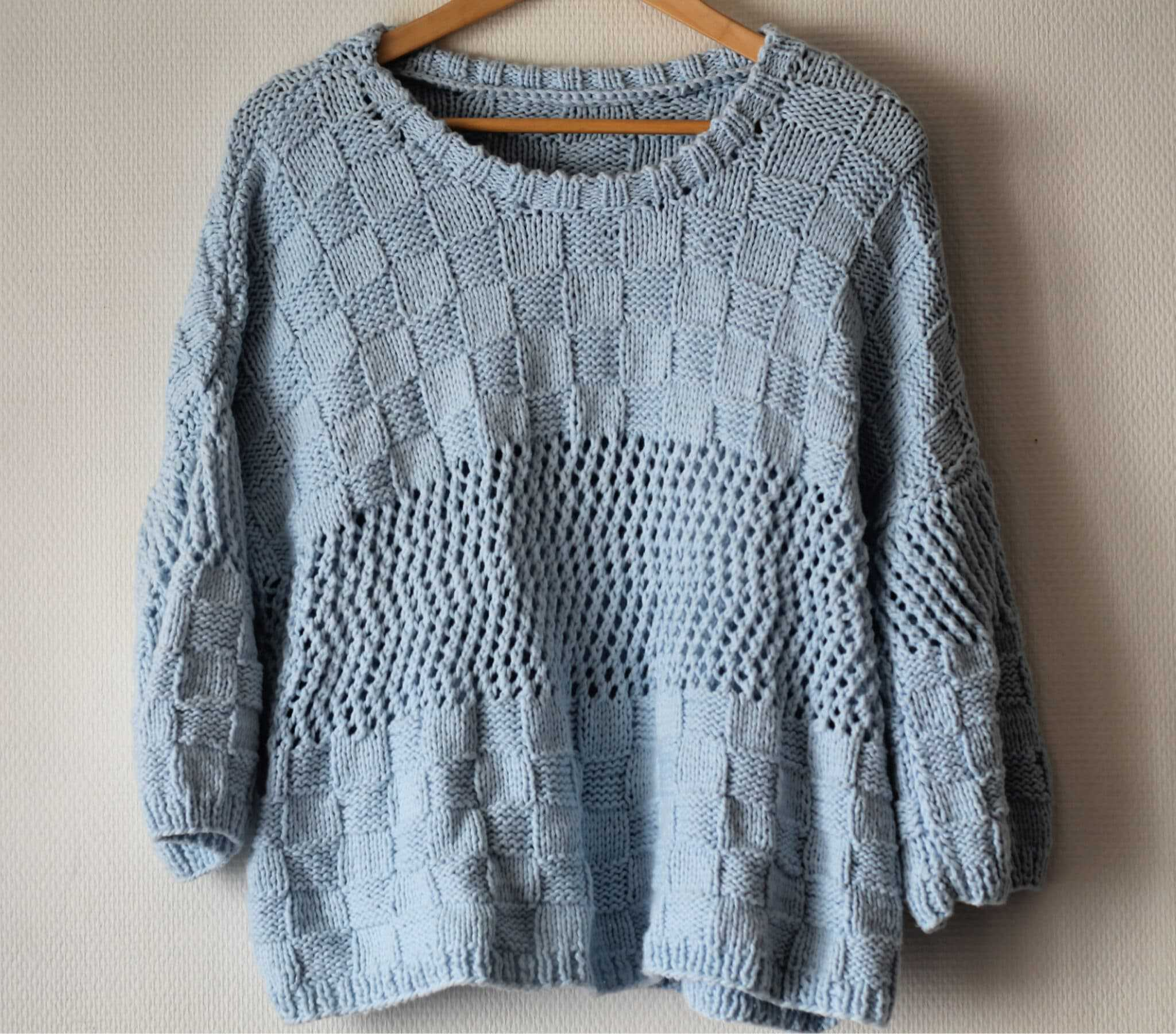 The Funky fresh Project - patron tricot pull laine Brume Phildar